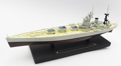 Acorazado HMS Nelson, Royal Navy, 1927-1947, 1:1250, Atlas