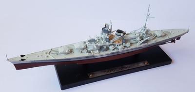 Acorazado Scharnhorst, Alemania, 1936, 1:1250, Atlas