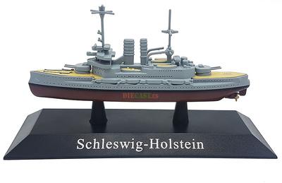 Acorazado Schleswig-Holstein, Kriegsmarine, 1908, 1:1250, DeAgostini