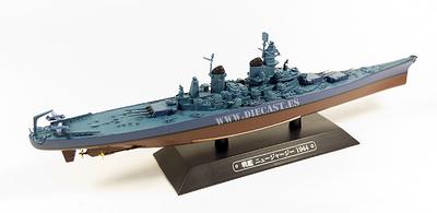 Acorazado norteamericano USS New Jersey, 1944, 1:1100, Eaglemoss