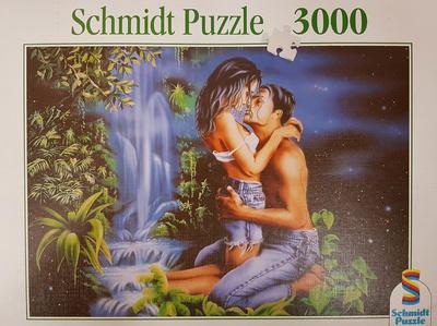 Adán y Eva, 3000 piezas, puzzle, Schmidt