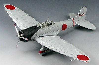 "Aichi D3A1 ""Val"" Dive Bomber  Model 11, Aircraft Carrier Akagi, Dec 1941, 1:72, SkyMax"