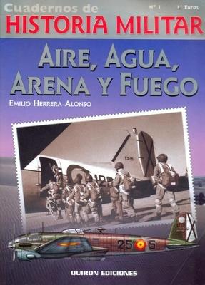 Aire, Agua, Arena y Fuego (Libro)