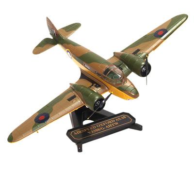 """Airspeed Oxford""""Ox Box"""" AS.10, V3388/G-AHTW, Duxford, 1:72, Oxford"""