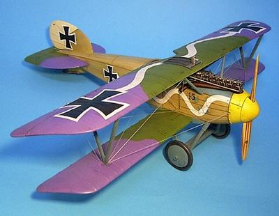 Albatros DIII O.A.W,  Jasta 10, Marcke, Septiembre, 1917, 1:30, John Jenkins