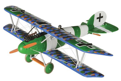 Albatross DVa Ltn Helmut Dilthey, Jasta 40, Mid-1918, 1:48, Corgi