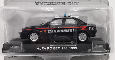 Alfa Romeo 156, 1999, 1/43, Carabinieri Collection