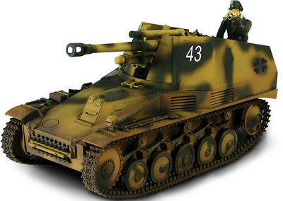 Alkett Sd.Kfz.124 Wespe, #43, Eastern Front, 1943, 1:72, Forces of Valor