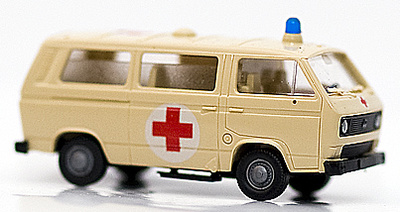 Ambulancia VW, Type 2, 1:87, Preiser