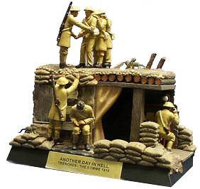 Another Day In Hell, World War 1 Diorama, 1:32, Corgi