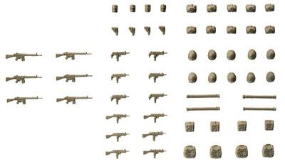 Armas y equipamiento, R.F.A., 1:87, Preiser