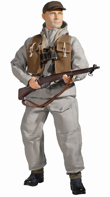 Arthur Barnes, British Infantry Patrol No. 9 Commando, 1:6, Dragon Figures