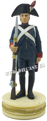 Artillery gunner on foot, French Army, 1:24, Altaya