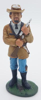 Asaltante de Quantrill, Miliciano Confederado, 1:30, Del Prado