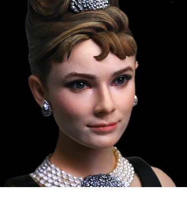 "Audrey Hepburn como Holly Golightly en ""Desayuno con Diamantes"", Deluxe Version, 1:6, Star Ace"