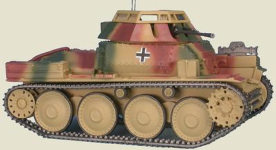 Aufklärungspanzer 38(t) mit 2 cm KwK 38 reconnaissance tank with 20 mm turret Sd.Kfz.141/1, 2th Pz. Div., Rusia, 1944-45, 1:48, Gasoline
