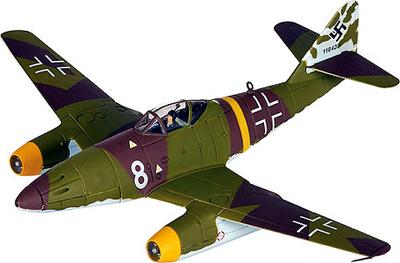 """Avión Me 262A-1a, Major Walter """"Nowi"""" Nowotny, 1:72, Corgi"""