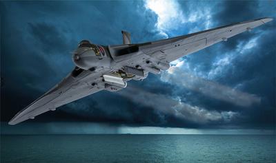 Avro Vulcan B.2, XM607, RAF No.44 Squadron, 'Operation Black Buck', Guerra de Las Malvinas, 1982, 1:72, Corgi
