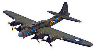 B-17F Memphis Belle, USA, 1943, 1:144, Editions Atlas