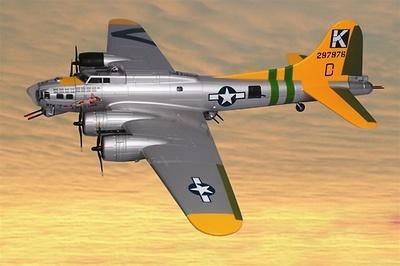 B-17G Flying Fortress, 1:48, Franklin Mint