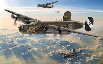 "B-24H Liberator ""Male Call"" 453rd BG, US Eighth Air Force, Jimmy Stewart, 1944, 1:72, Corgi"
