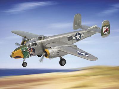 """B-25 MITCHEL, U.S.A.A.F.  """"Lady Lil"""", 1:48, Franklin Mint"""