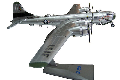 "B-29 Superfortress Heavy Bomber ""Raz'n Hell"", 28th Bomb Squadron, 19th Bomb Group, 97th Bomb Wing, Okinawa, Japón, 1945, 1:144, Air Force One"