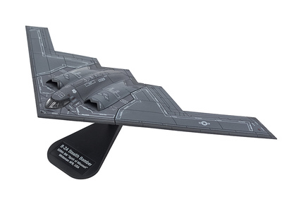 "B-2A Stealth Bomber 509th BW ""Spirit of Missouri"" Base Aérea Whiteman, USA, 1987, 1:200, Italeri"