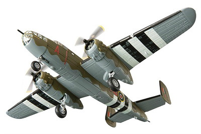 B25 Mitchell II, FW130 MQ-A, No226 Squadron, Hartford Bridge, Hampshire, Junio, 1944, 1:72, Corgi