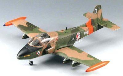 BAC 167 Strikemaster Mk.84, Republic of Singapore Air Force, 1970s, 1:72, SkyMax