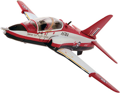 "BAE Hawk T.1A ""Astra"" Qunetiq Boscombe Down, Wilts. 2007, 1:72, Corgi"