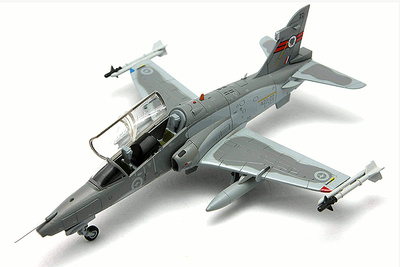 BAe Hawk 127 LIF (Lead-in Fighter) A27-22 No.76 RAAF Squadron, RAAF Base Williamtown, 1:72, Falcon Models