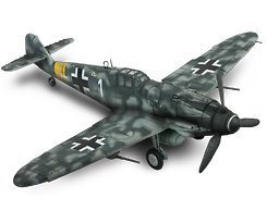 BF-109 G-6, Germany, Hungary, 1944, 1:32, Forces of Valor
