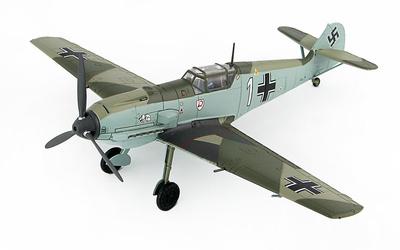 """BF 109E-3 1./JG 2 """"Richthofen"""", Luftwaffe Oblt. Otto Bertram, Mayo, 1940, 1:48, Hobby Master"""