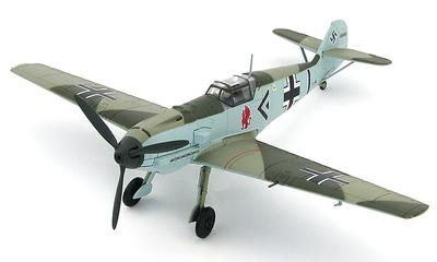 """BF 109E-4 """"Adolph Galland"""" JG 26, Francia, 1940, 1:48, Hobby Master"""