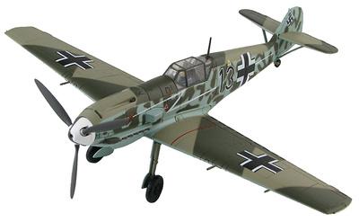 """BF 109E-4 I./JG 77 """"Blitz"""", Francia, verano 1940, 1:48, Hobby Master"""