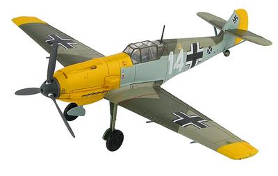 "BF 109E-4 ""Marseille"" 1.(J)/ LG 2, Francia, Septiembre, 1940, 1:48, Hobby Master"