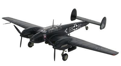 BF 110E-2 G9+BC, Oblt. Uellenbeck, II/NJG1, spring 1942, 1:72, Hobby Master