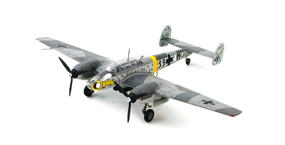 BF 110E S9+AM, 4. Staffel,  ZG 1, Winter 1941/42, 1:72, Hobby Master