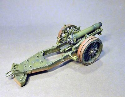 BL6 inch 26cwt Howitzer, Ejército Británico, 1ª Guerra Mundial, 1:30, John Jenkins
