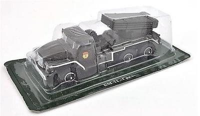 BM-21 - Grad, camión soviético, 1:72, DeAgostini