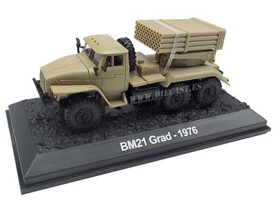 BM21 Grad, Lanzadora Múltiple de Cohetes, URSS, 1976, 1:72, Amercom