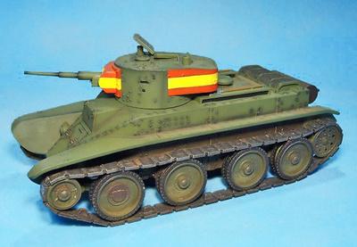 "BT-5, ""Tanque Rápido"", tanque ligero nacionalista, Guerra Civil Española, 1:30, John Jenkins"