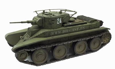 "BT-5, ""Tanque Rápido"", tanque ligero republicano, Guerra Civil Española, 1:30, John Jenkins"
