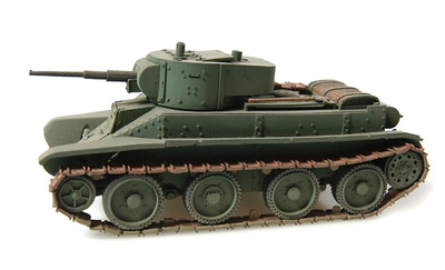 BT5, Welded Turret, 1:48, Wespe Models