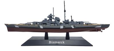 Battleship Bismarck, Kriegsmarine, 1939, 1:1250, DeAgostini