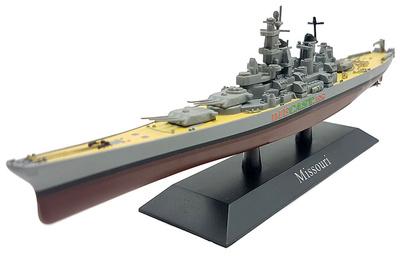 Battleship Missouri, American Navy, 1944, 1: 1250, DeAgostini