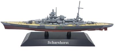 Battleship Scharnhorst, Kriegsmarine, 1939, 1: 1250, DeAgostini