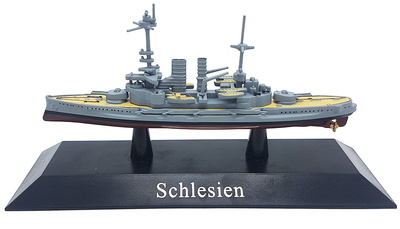 Battleship Schlesien, Kaiserliche Marine, 1908, 1: 1250, DeAgostini
