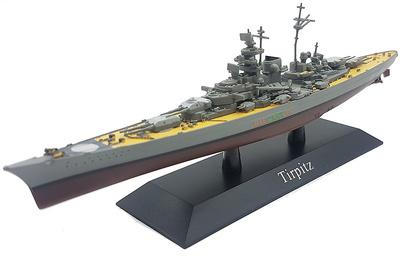 Battleship Tirpitz, Kriegsmarine, 1941, 1: 1250, DeAgostini